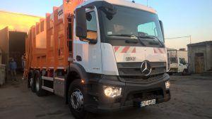 """Spółka """"USKOM"""" dokonała zakupu samochodu ciężarowego do odbioru nieczystości stałych"""