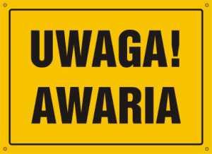 UWAGA AWARIA!