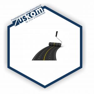 Nowa nawierzchnia asfaltowa w ramach realizacji Zadania nr 4
